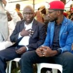 Kyadondo East MP Robert Kyagulanyi and Former Bukhooli Central MP Wafula Oguttu