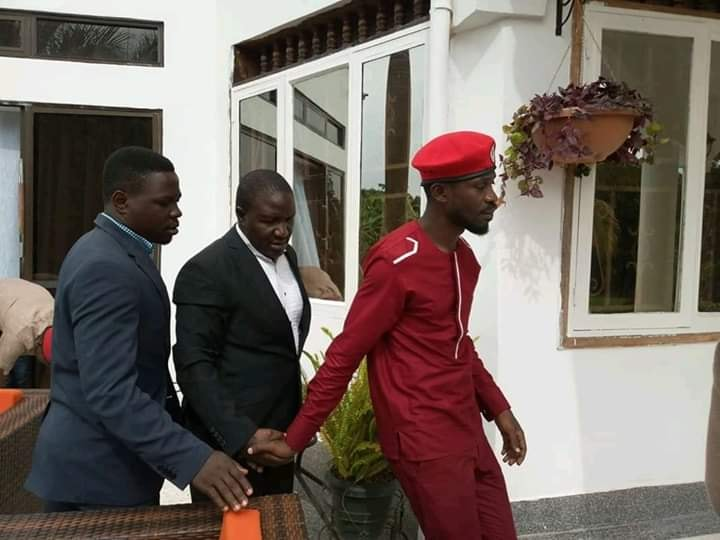 Bobi Wine , Zaake and Basalirwa heading to CID Kibuli