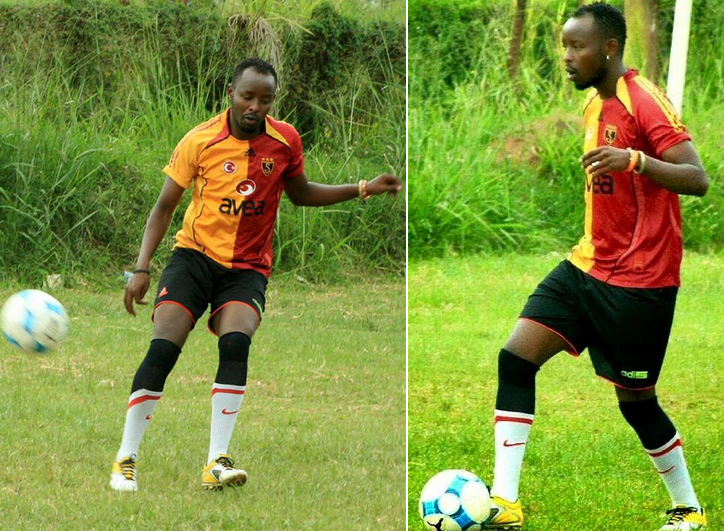 Eddy Kenzo Playing Football