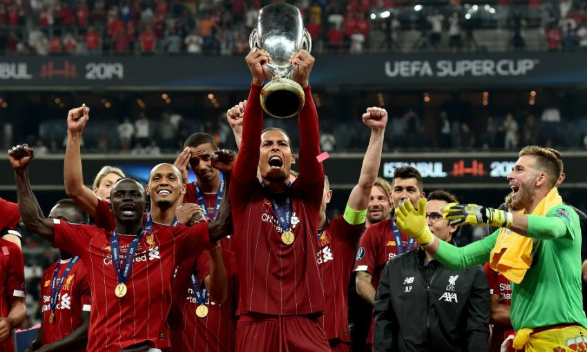 Virgil van Dijk on Super Cup success