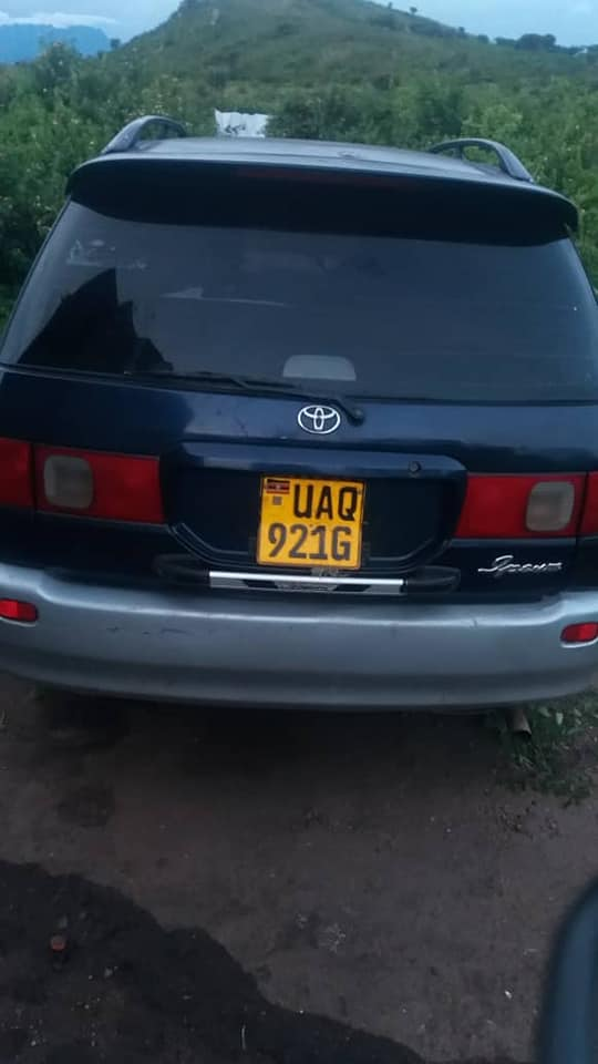 Car's Number Plate