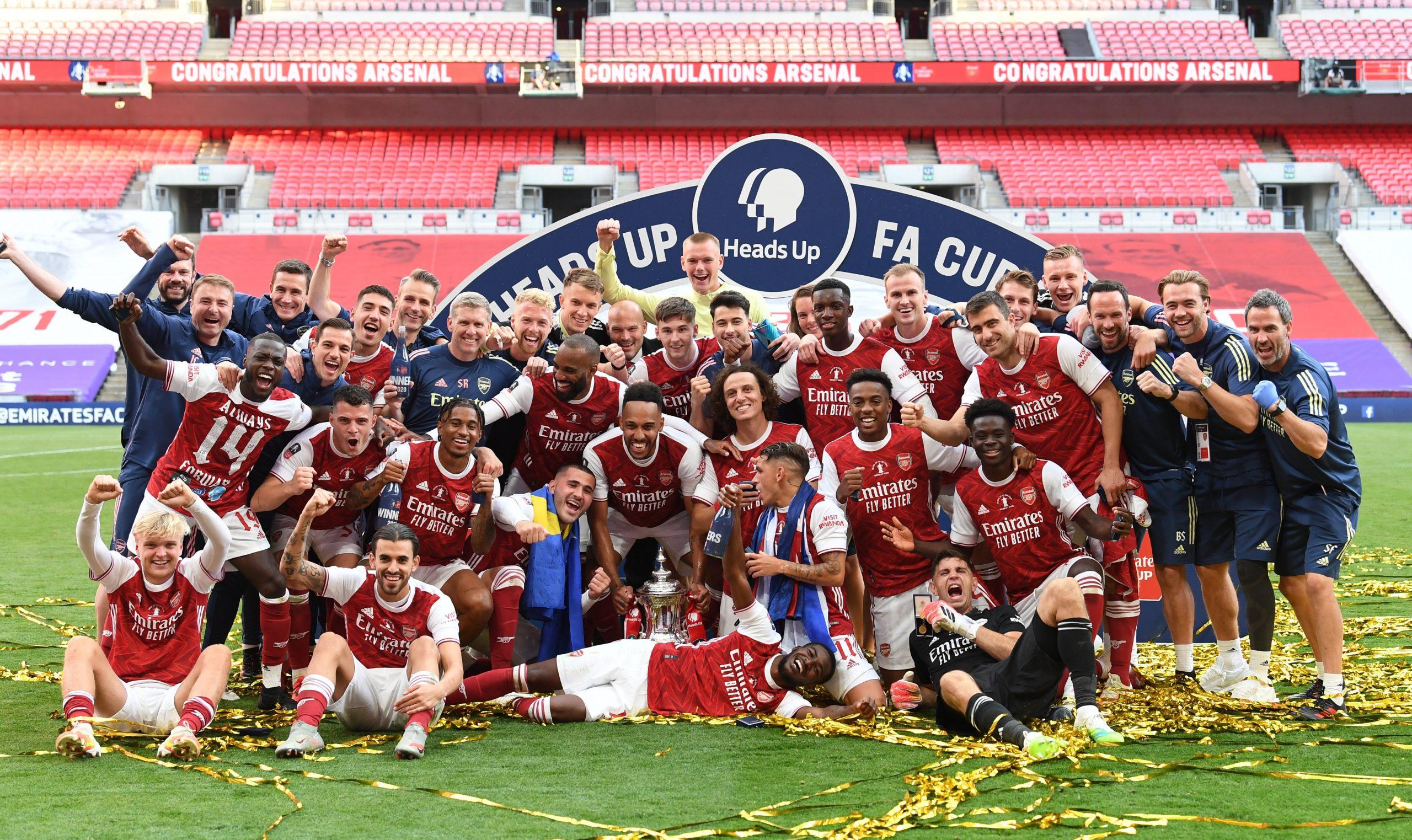 More celebration moment. Source https://twitter.com/Arsenal ugandafilmtalks