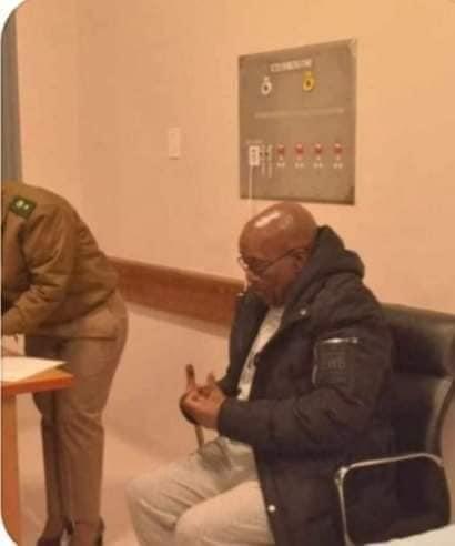 Jacob Zuma on House Arrest